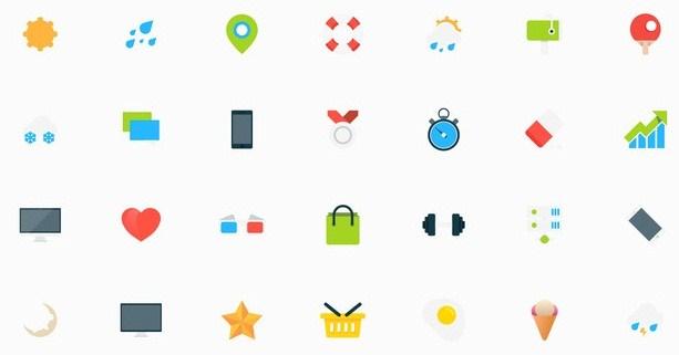 Tiny Vector Icons