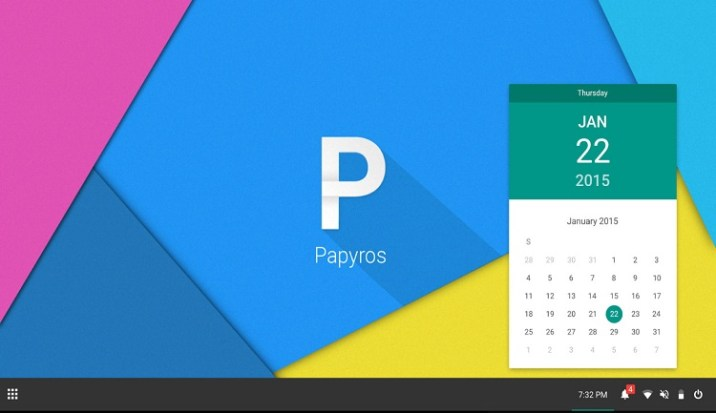 Papyros - New Alternative Operating Systems
