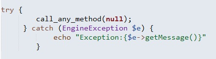 Shared Parent Class in Exception Handling