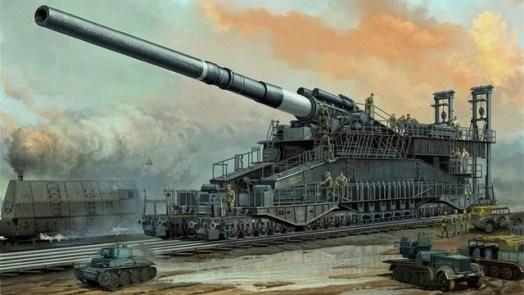 World War 2 Weapons - Schwerer Gustav