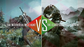 Skyrim The Elder Scrolls vs The Witcher 3 Wild Hunt