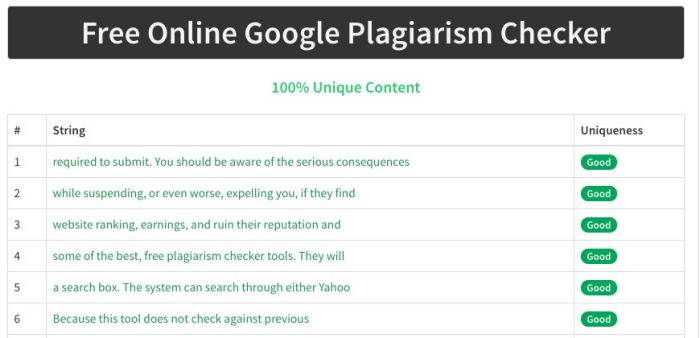 academic plagiarism checker free