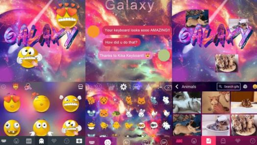 Galaxy Emoji keyboard
