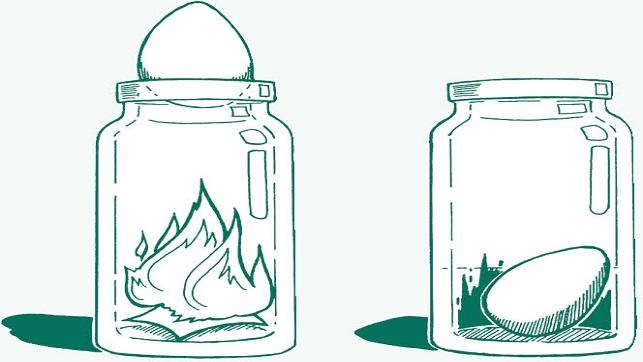 egg in the bottle