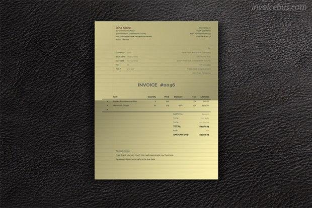 paperlike invoice