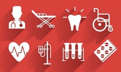 Medical White Icons
