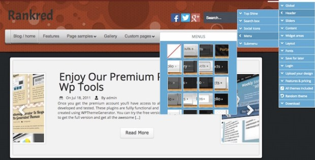 20 Best WordPress Theme Generators | Free and Paid - RankRed