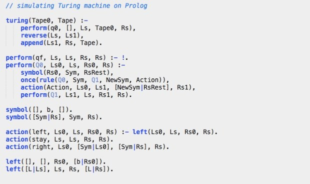 simulating turing machine on prolog