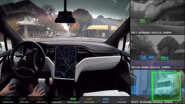 self driving tech