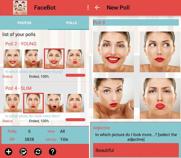 Dating app facial recognition