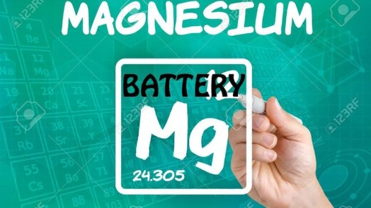 Magnesium-Ion Battery