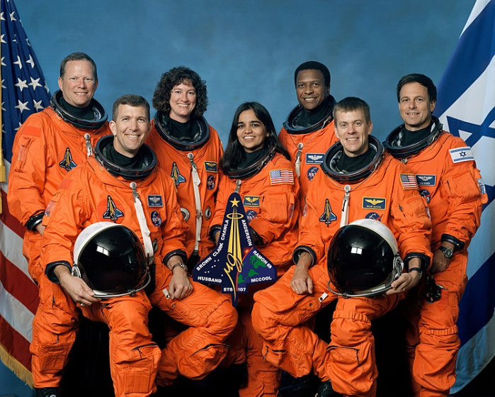 Crew of STS-107