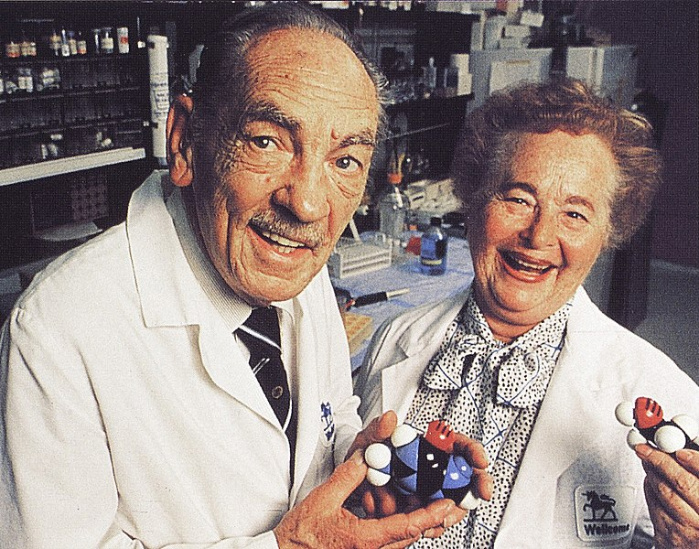 George Hitchings and Gertrude Elion