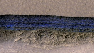 Mars Has 100 Meters Thick Ice
