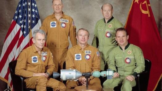 ASTP crews potrait - Facts About NASA