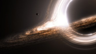 black hole in Milky Way Center