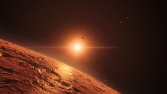 TRAPPIST-1 e   Earth-like planets