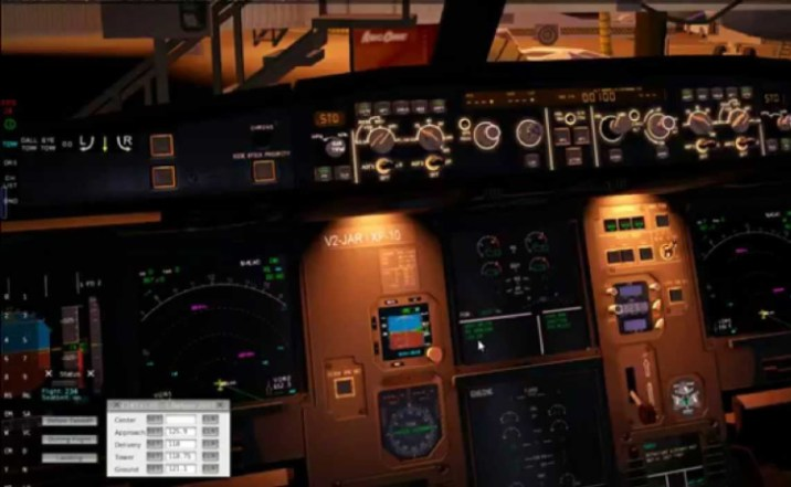 737 Flight Simulator Game