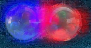 Simulation of Atomic Nucleus - deuteron
