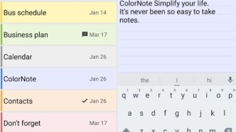 ColorNote - best note-taking app