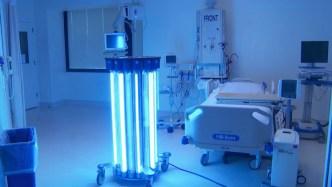 Bacteria-Killing UV Robot