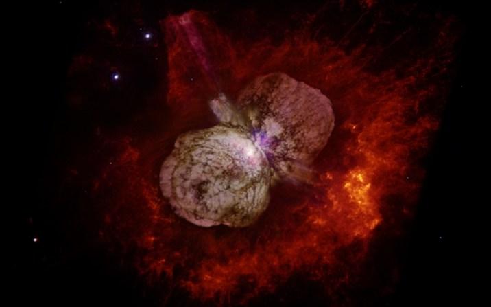 massive stellar system - Eta Carinae
