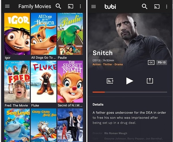 where to download movies for android free