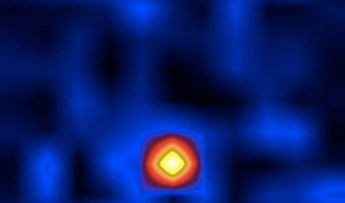 X-ray image of Cygnus X-1