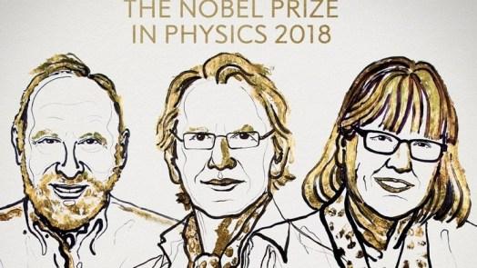 2018 Nobel Prize In Physics
