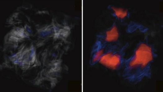 star formation via magnetic waves
