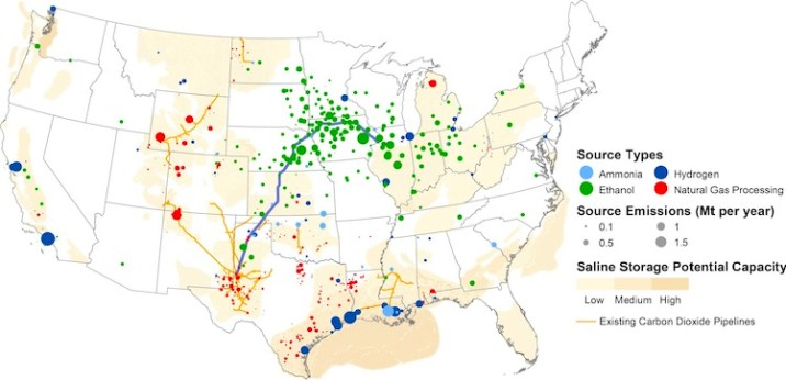 proposed US Pipeline Network