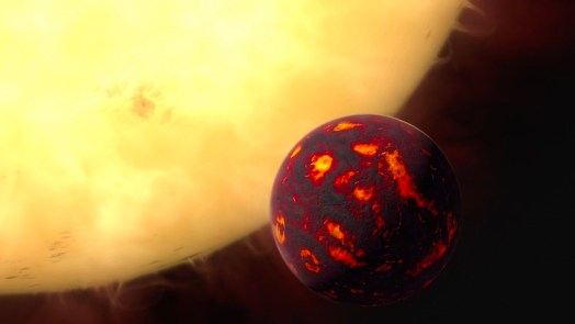 Super-Earth contains rubies sapphires