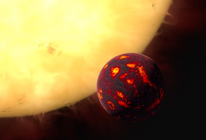 Super-Earth Planets contain ruby