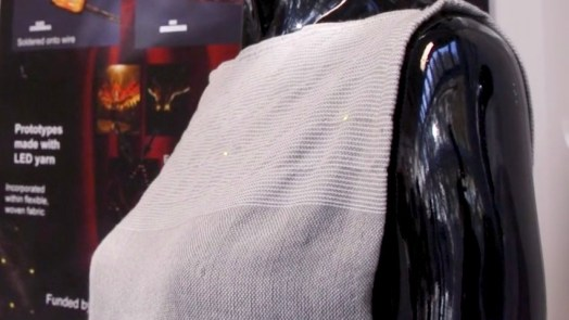Solar Cells Embedded In Clothing to charge smartphones