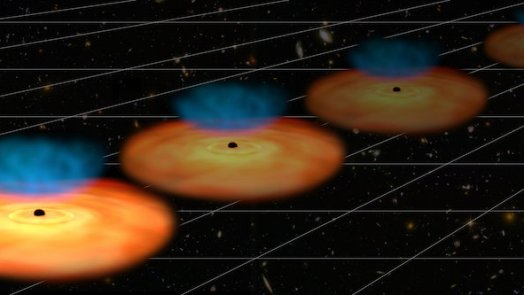 Quasars measure expansion of the universe