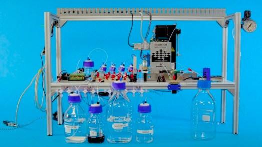 Microsoft Automated DNA Data Storage