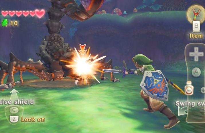 The Legend of Zelda Sword