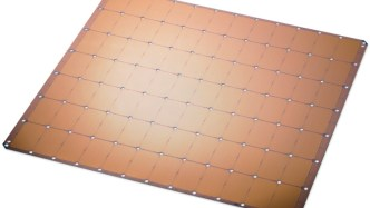Largest AI Chip - Cerebras Wafer-Scale Engine