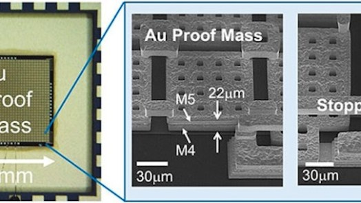 New MEMS Accelerometer with more sensitivity