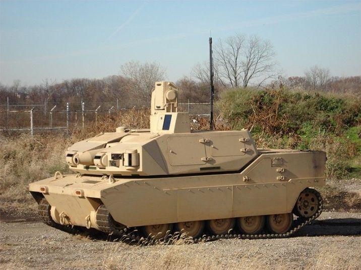 Black knight tank