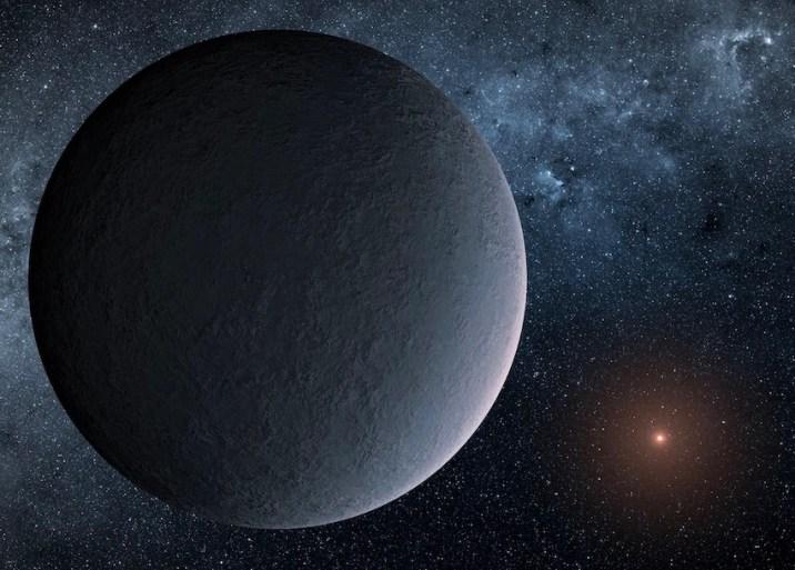Unusual Exoplanet