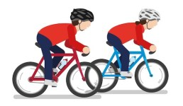 Cycling - examples of kinetic energy