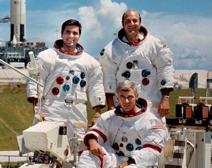 The crew of Apollo 17