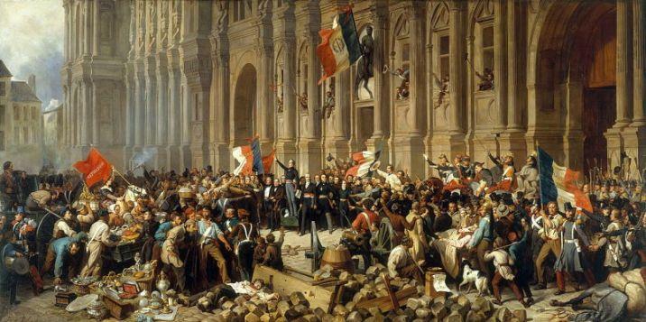 The famous speech of Lamartine