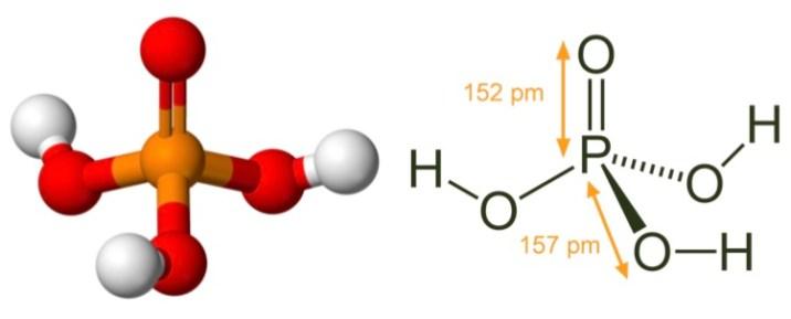 h3po4 structure
