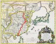 17th century - Matteo Ricci's map of China