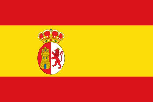 Flag of Spain under Charles III