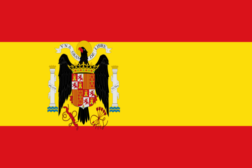 Flag of Spain under Franco