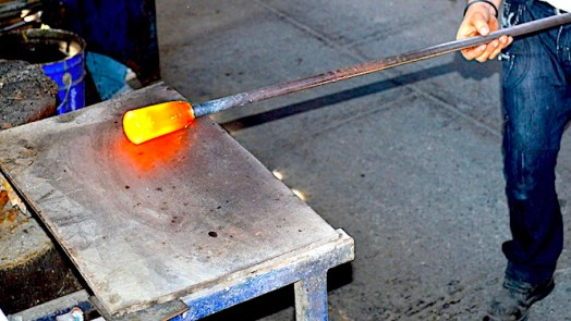 How is glass made?
