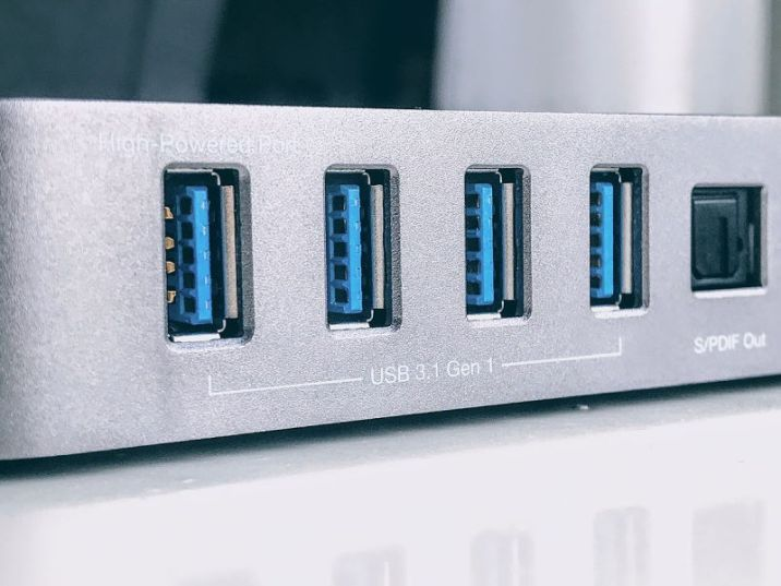 USB 3.0 Gen 1 ports